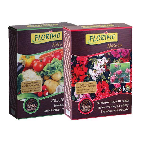 Florimo Natura szerves trágya 2 kg