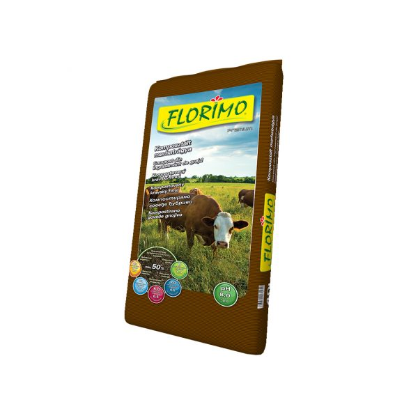Florimo komposztált marhatrágya
