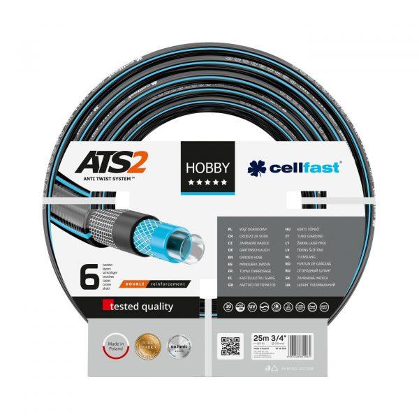 """Cellfast Hobby ATS2 locsolótömlő (3/4"""") 25 m"""